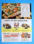 Vintage Ad: 1949 Diamond Walnuts