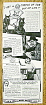 Click to view larger image of Vintage Ad: 1941 Post 40% Bran Flakes w/ Estelle Butler (Image1)