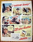 Vintage Ad: 1941 Camel Cigarettes with Charlie Dewey