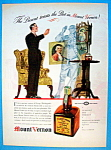 Vintage Ad: 1937 Mount Vernon Whiskey
