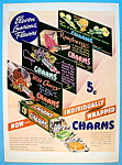 1937 Charms Candies with 11 Luscious Flavors