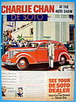 Vintage Ad: 1937 De Soto with Charlie Chan