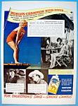 Vintage Ad: 1937 Camel Cigarettes w/Dorothy Hill