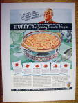 1937 Hurff Spaghetti with a Bowl Of Spaghetti