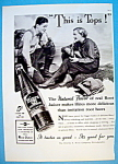 1937 Hires Root Beer with Man & Woman Talking