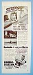 Click to view larger image of Vintage Ad: 1939 Bromo Seltzer w/Alex De Seversky (Image1)