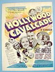 Vintage Ad: 1939 Hollywood Cavalcade w/Alice Faye