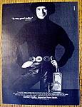 Click to view larger image of Vintage Ad: 1982 Suntory Banzai Vodka w/Rudolf Nureyev (Image1)