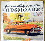 Click to view larger image of Vintage Ad: 1941 Oldsmobile B-44 (Image2)