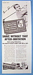 Click to view larger image of Vintage Ad: 1934 Palmolive Shave Cream w/ Gene Sarazen (Image1)