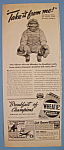 Click to view larger image of Vintage Ad: 1941 Wheaties Cereal (Image1)