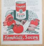 Click to view larger image of 1925 Campbell's Vegetable Soup with Can of Soup  (Image2)