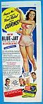 Vintage Ad: 1945 Blue Jay Corn Plasters