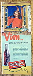 Click to view larger image of Vintage Ad: 1947 Dr. Pepper (Image1)