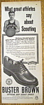 Vintage Ad: 1950 Buster Brown Shoes w/Bob Davies