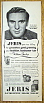 Click to view larger image of Vintage Ad: 1950 Jeris Hair Tonic w/William Bendix (Image1)