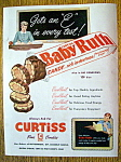 Vintage Ad: 1951 Curtiss Baby Ruth Candy Bar