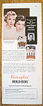 Vintage Ad: 1953 Gayla Hold Bob w/ Powers Girls