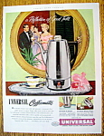 1953 Universal Coffeematic w/People Drinking Coffee