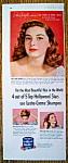 Vintage Ad: 1953 Lustre Creme Shampoo w/ Pier Angeli