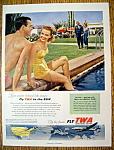 Vintage Ad: 1954 TWA Airlines