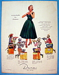 Click to view larger image of Vintage Ad: 1954 Dana Perfumes (Image1)