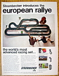 Click to view larger image of Vintage Ad: 1966 Strombecker European Rallye (Image1)