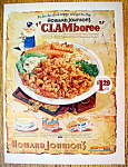 Vintage Ad: 1965 Howard Johnson's Clamboree