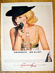 Vintage Ad: 1965 Smirnoff Vodka with Tammy Grimes