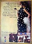 Vintage Ad: 1966 Pillsbury Fudge Macaroon