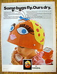 Vintage Ad: 1967 Beautybug Hair Dryer