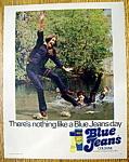 Vintage Ad: 1973 Blue Jeans Cologne