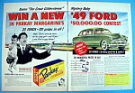 Click to view larger image of Vintage Ad: 1948 Parkay Margarine w/Great Gildersleeve (Image1)
