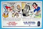 Vintage Ad: 1961 U. S. Royal Tires