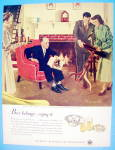 Click to view larger image of 1949 Meeting Her Parents By Douglas Crockwell (Image2)