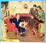 Click to view larger image of 1949 Meeting Her Parents By Douglas Crockwell (Image3)