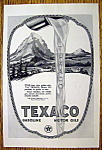 1923 Texaco with Cars Driving