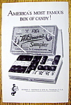 Click to view larger image of 1925 Whitman's Sampler Chocolates & Confections (Image1)