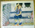 Click to view larger image of 1959 Johnson & Johnson with Girl & Apple By John Falter (Image2)