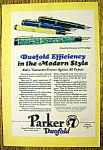 Click to view larger image of 1928 Parker Duofold Pens (Image1)
