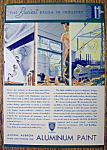 1935 Alcoa Albron Aluminum Paint w/Places to Use Paint