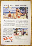 1947 Come to Florida (The Sunshine State) w/Beach Scene