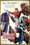 1948 Interwoven Socks with Football Player