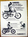 1965 Yamaha Motorcycle with Annette Funicello & Stanley