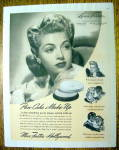 Click to view larger image of 1941 Max Factor Pan Cake Make Up with Lana Turner (Image1)