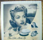 Click to view larger image of 1941 Max Factor Pan Cake Make Up with Lana Turner (Image2)