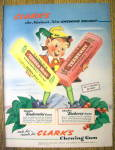 Click to view larger image of 1943 Clark's Chewing Gum (Image1)