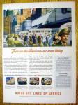 1944 Motor Bus Lines Of America