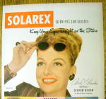 Click to view larger image of 1948 Solarex Sun Glasses with Ann Sheridan (Image2)