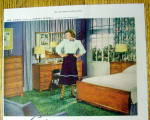 Click to view larger image of 1948 Mengel Furniture with Jane Wyman (Image2)